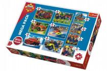 Puzzle Požárník Sam 10v1