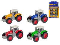 Traktor 7 cm kov 1:64 voľný chod - mix farieb