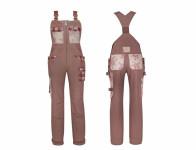 Nohavice GARDEN GIRL CLASSIC traky veľkosť 36 / S