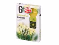 Sviečka čajová Citronella vonná 6ks