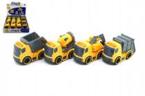 Auto stavební plast 12cm na setrvačník - mix variant či barev