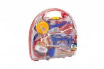 Sada doktor plast 9ks v plastovom kufríkov