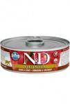 N & D CAT quinoa Venison & Coconut 80g
