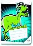 Sešit A5/524 Prehistoric Funny 20 listů linkovaný - VÝPREDAJ
