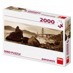 Puzzle 2000 dílků: Pohled na most Golden Gate panoramic