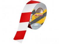 páska výstražná 75mmx250m ČRV-BÍ