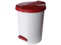 kôš odpadkový nášľapný VOX 16l guľatý s vložkou, plastový - mix farieb