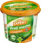 Prípravok GRASS EXPERT na trávnik proti machu s hnojivom 5kg
