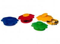 pasca na slimáky plastová (4ks) - mix farieb
