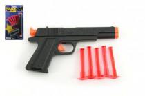 Pištoľ na prísavky plast 16cm