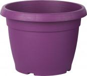 Kvetináč Similcotto brúsený - 25 cm fialový