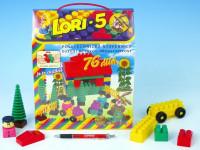 Stavebnice LORI 5 plast