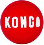 Hračka guma Signature loptu 2ks S Kong