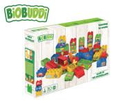 BiOBUDDi stavebnice Learning To Create Young Ones 39 ks + 1 ks základná doska