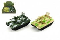 Tank plast 15cm na zotrvačník - mix farieb
