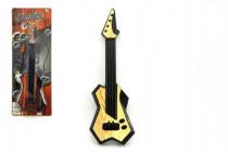 Gitara 40cm plast - mix farieb