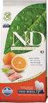 N & D Grain Free Dog Adult Fish & Orange 12 kg