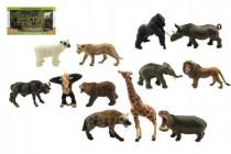 Zvieratká safari ZOO 12ks plast