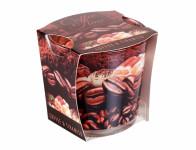 Sviečka v skle COFFEE TIME-TIRAMISU vonná 115g