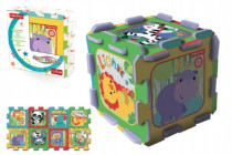Penové puzzle Fisher Price 8ks