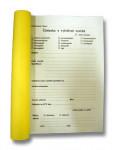 Tlačivo-Žiadanka na vyšetrenie vzoriek 100 listov