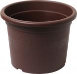 Plastia obal Narcis - čokoládový 19 cm