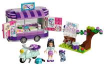 Lego Friends 41332 Emma a umelecký stojan