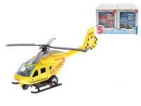 Helikoptéra skládací 14 cm kov zpětný chod - mix barev