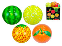 Lopta 11 cm ovocie - mix variantov či farieb