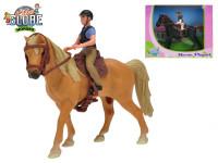 Koník s jazdcom - mix farieb