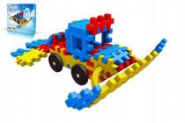 Stavebnica Blok Ski plast 116 dielikov
