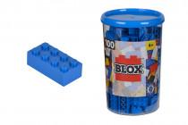 Blox 100 Kostičky modrej v boxe