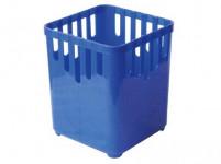 odkvapkávač na príbory 1 priehradka štvorcový plastový - mix farieb