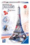 Eiffelova věž Vlajková edice 216d