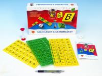 Samohlásky a souhlásky společenská hra vzdělávací