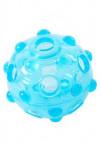 Hračka pes BUSTER Crunch Ball, svetlo modrá 8,25cm M