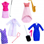 Barbie profesijné oblečenie - mix variantov či farieb