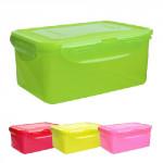 dóza na potraviny LOCK 600ml (151x108x69mm) plastová, barevná