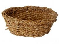 košík oválny stredný 24x18x8cm morská tráva