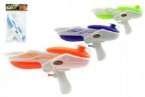 Vodné pištole plast 27cm - mix farieb