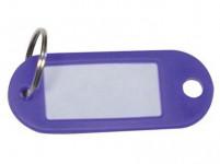 visačka na kľúče CONCORD plastová, s rozdeľ. (100ks) - mix variantov či farieb