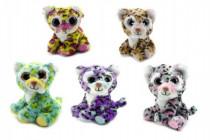 Leopard zvieratko plyš 12cm - mix variantov či farieb