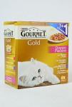 Gourmet Gold cat konz.-gril.k. Mix Multipack 7 + 1 ks zdarma x 85 g