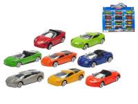 Auto športové kov 7,5 cm 1:64 - mix variantov či farieb