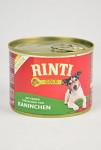 Rinti Dog Gold Senior konzerva králík 185g