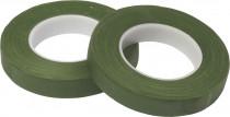 Ovinovací páska Oasis - 13 mm tmavě mechově zelená - 2 ks