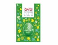 Set na vajíčka OVO SET farba, obtlačky a košieľky zelená