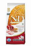 N & D Low Grain DOG Senior M / L Chicken & Pomegr 12kg