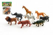 Zvieratká safari ZOO plast