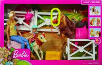 Barbie herní set s koníky